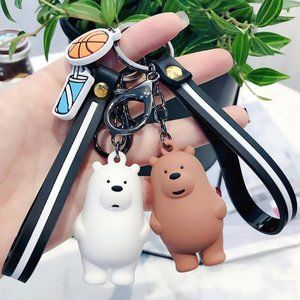 WE BARE BEARS Grizzly Bear Keychain